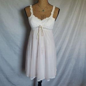 Vintage pink nightgown
